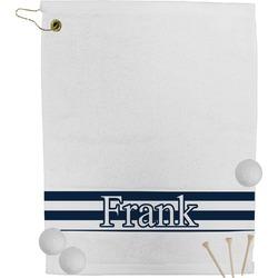 Horizontal Stripe Golf Towel (Personalized)