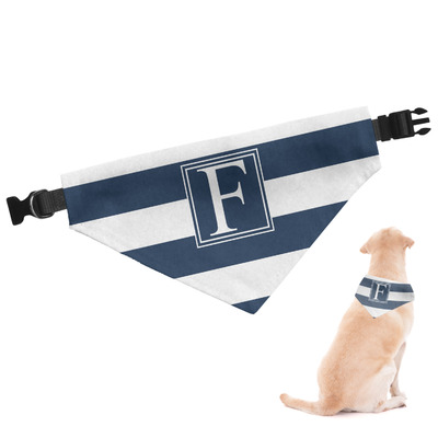 Horizontal Stripe Dog Bandana (Personalized)