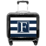 Horizontal Stripe Pilot / Flight Suitcase (Personalized)