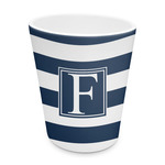 Horizontal Stripe Plastic Tumbler 6oz (Personalized)
