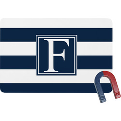 Horizontal Stripe Rectangular Fridge Magnet (Personalized)