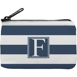 Horizontal Stripe Rectangular Coin Purse (Personalized)