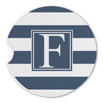 Horizontal Stripe Sandstone Car Coasters (Personalized)