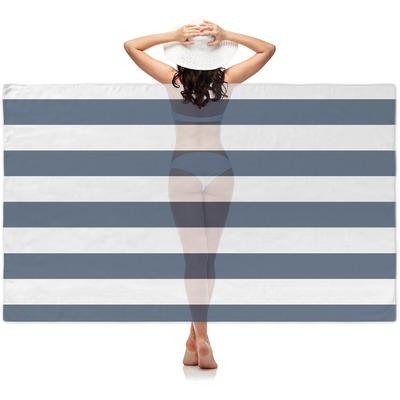 Horizontal Stripe Sheer Sarong (Personalized)