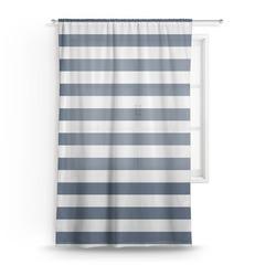Horizontal Stripe Sheer Curtains (Personalized)