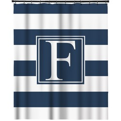 """Horizontal Stripe Extra Long Shower Curtain - 70""""x84"""" (Personalized)"""