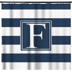 "Horizontal Stripe Shower Curtain - 71""x74"" (Personalized)"