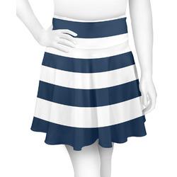 Horizontal Stripe Skater Skirt (Personalized)