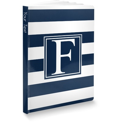 Horizontal Stripe Softbound Notebook (Personalized)