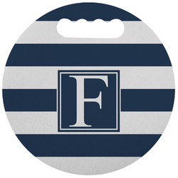 Horizontal Stripe Stadium Cushion (Round) (Personalized)