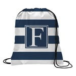 Horizontal Stripe Drawstring Backpack (Personalized)