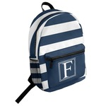Horizontal Stripe Student Backpack (Personalized)