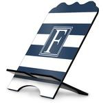 Horizontal Stripe Stylized Tablet Stand (Personalized)