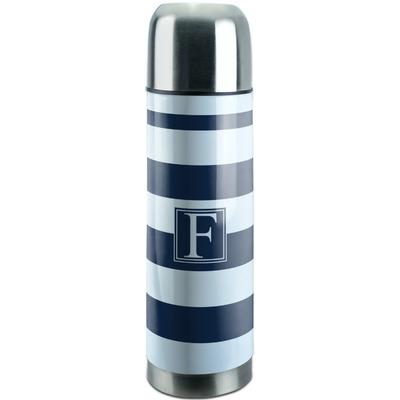 Horizontal Stripe Stainless Steel Thermos (Personalized)