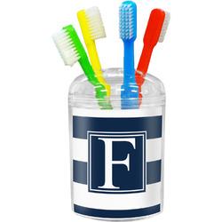 Horizontal Stripe Toothbrush Holder (Personalized)