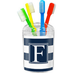 Horizontal Stripe Toothbrush Holder (Personalized)