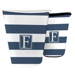 Horizontal Stripe Waste Basket (Personalized)