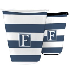 Horizontal Stripe Waste Basket (Personalized)