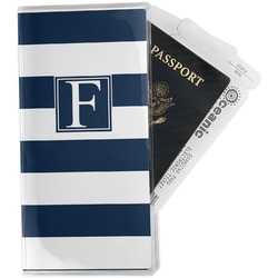 Horizontal Stripe Travel Document Holder