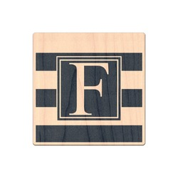 Horizontal Stripe Genuine Wood Sticker (Personalized)