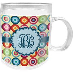 Retro Circles Acrylic Kids Mug (Personalized)