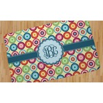 Retro Circles Area Rug (Personalized)