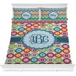 Retro Circles Comforter Set (Personalized)