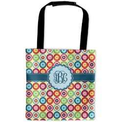 Retro Circles Auto Back Seat Organizer Bag (Personalized)