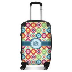 Retro Circles Suitcase (Personalized)