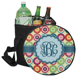 Retro Circles Collapsible Cooler & Seat (Personalized)
