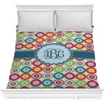 Retro Circles Comforter (Personalized)
