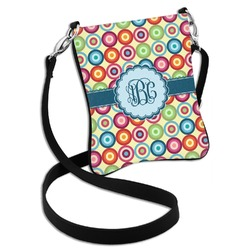 Retro Circles Cross Body Bag - 2 Sizes (Personalized)