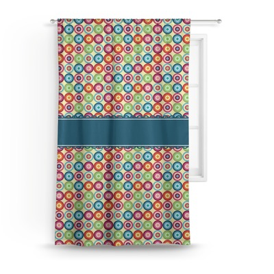 Retro Circles Curtain (Personalized)