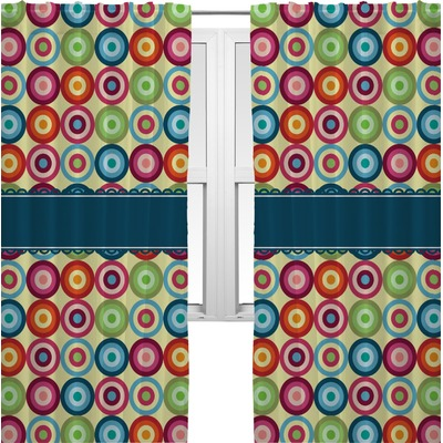 Retro Circles Curtains - 56