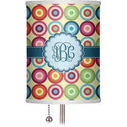 "Retro Circles 7"" Drum Lamp Shade (Personalized)"