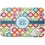 Retro Circles Dish Drying Mat (Personalized)