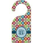 Retro Circles Door Hanger (Personalized)