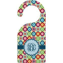 Retro Circles Door Hanger (Personalized)