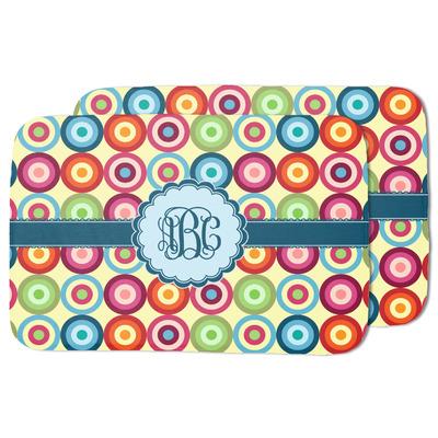 Retro Circles Dish Drying Mat (Personalized)