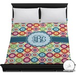 Retro Circles Duvet Cover (Personalized)