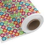 Retro Circles Custom Fabric by the Yard (Personalized)
