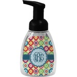 Retro Circles Foam Soap Dispenser (Personalized)