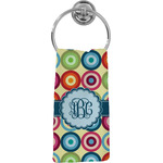 Retro Circles Hand Towel - Full Print (Personalized)