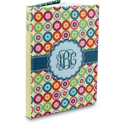 Retro Circles Hardbound Journal (Personalized)
