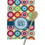 Retro Circles Kitchen Towel - Full Print (Personalized)