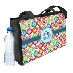Retro Circles Ladies Workout Bag (Personalized)