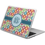 Retro Circles Laptop Skin - Custom Sized (Personalized)