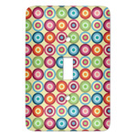 Retro Circles Light Switch Covers - Multiple Toggle Options Available (Personalized)