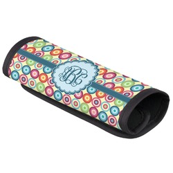 Retro Circles Luggage Handle Cover (Personalized)
