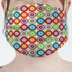 Retro Circles Face Mask Cover (Personalized)